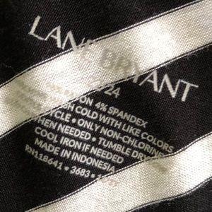Lane Bryant Tops - Lane Bryant Black and White Swing Tank Top 22/24